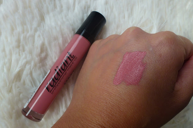 matte liquid lipstick radiant review