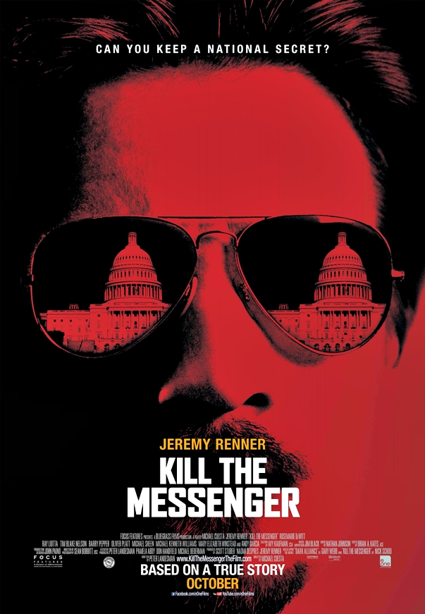 Póster: Matar al mensajero (Kill the Messenger, 2014)