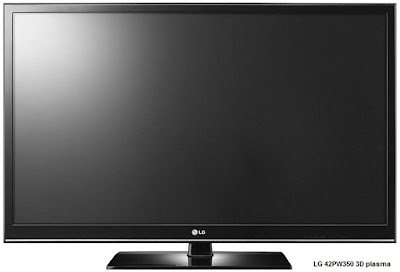 LG 42PW350 3D plasma TV price, review and specifications