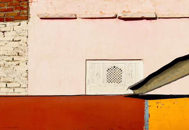 Minimalist Photo of Geometry spotted opposite Jharkhand Mahadev Temple, Jaipur