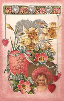 1906 Peek-a-boo Valentine
