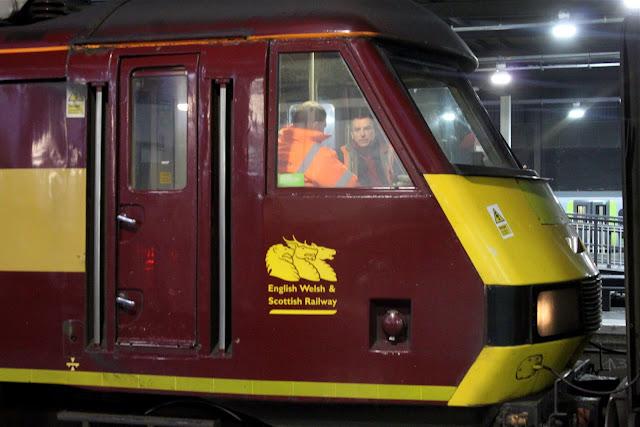Night train at Euston