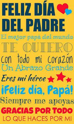 mensajes para el dia del padre