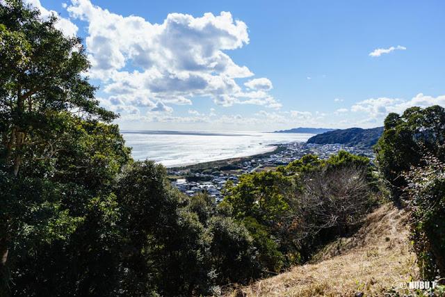 抱湖園(南房総市)見晴台からの景色