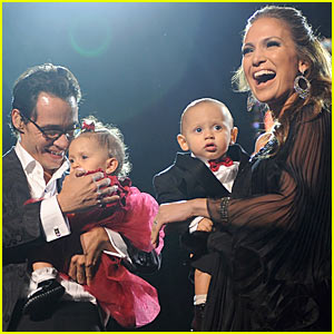 Of her past high-profile relationship the three-time married star said    Jennifer Lopez Twins Names