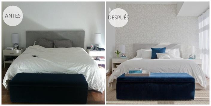 Antes y despues de un dormitorio de california cocochicdeco - Decoracion de casas antes y despues ...