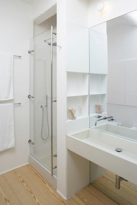 encanto de casa nova banheiros brancos. Black Bedroom Furniture Sets. Home Design Ideas