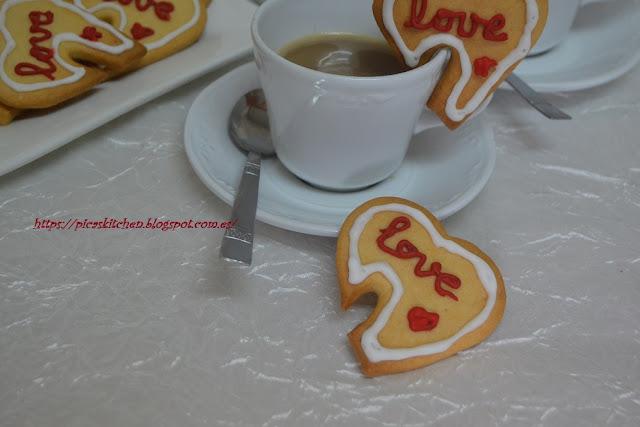 GALLETAS AMOROSAS para San Valentín