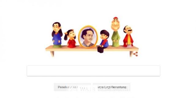 Google Doodle Rayakan Ulang Tahun Suyadi, Pak Raden di