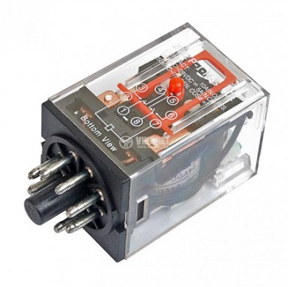 Mengenali cara kerja relay omron 8 kaki dan kode kodenya cara cara memasang relay 8 kakicara memasang relay listrikharga relay omron 220vac ccuart Choice Image