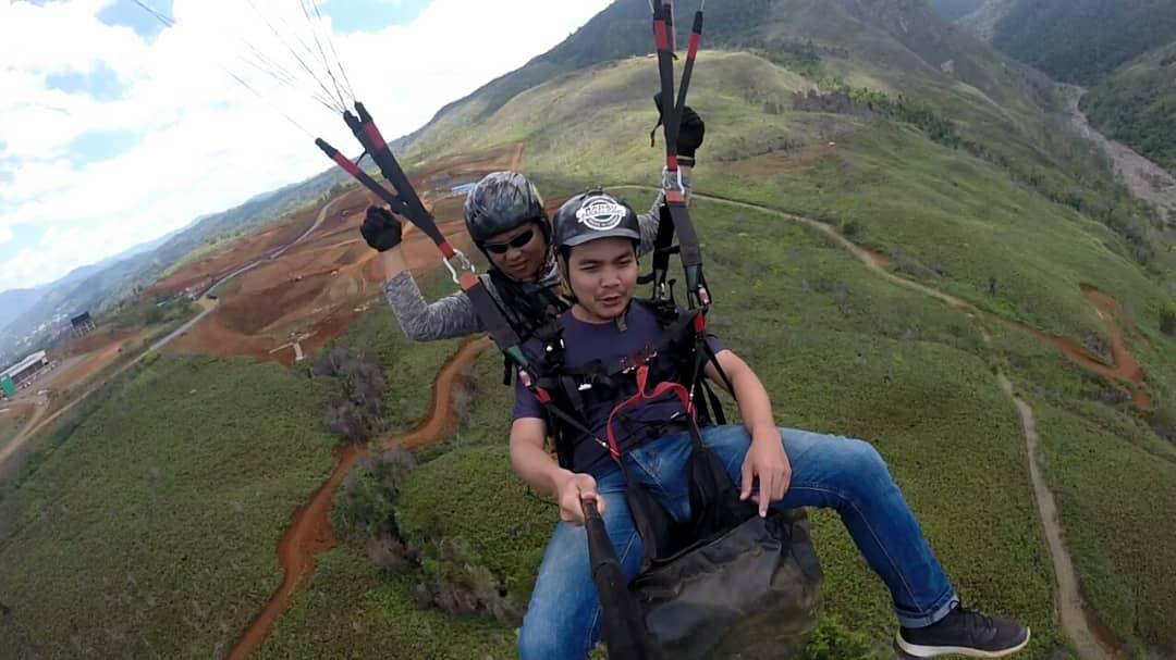 Paragliding ranau lohan harga murah