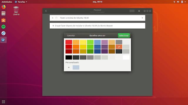 GNOME Todo no Ubuntu