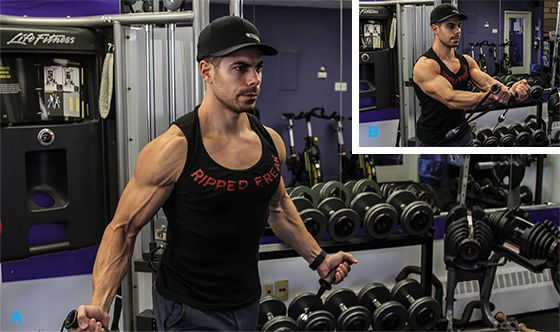Best Chest Exercises of All Time - 30 Exercise - Low-Cable Crossover