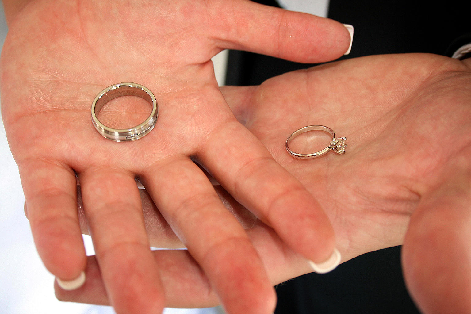 Choosing Your Wedding Rings Can Be Seen As One Of The First Compromises Married Life You And Spouse To Need