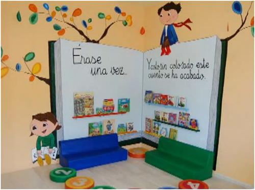 Ideas para decorar la biblioteca zona 58 preescolar for A que zona escolar pertenece mi escuela
