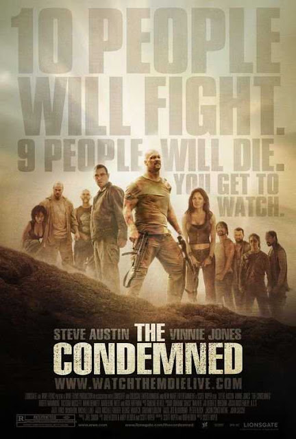 Poster The Condemned 2007 Full Movie Download Dual Audio Hindi