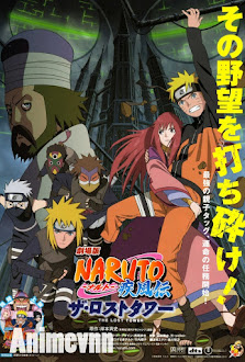 Naruto Shippuuden Movie 4- Tòa Tháp Bị Lãng Quên - Naruto Shippuuden Movie 4: The Lost Tower 2010 Poster