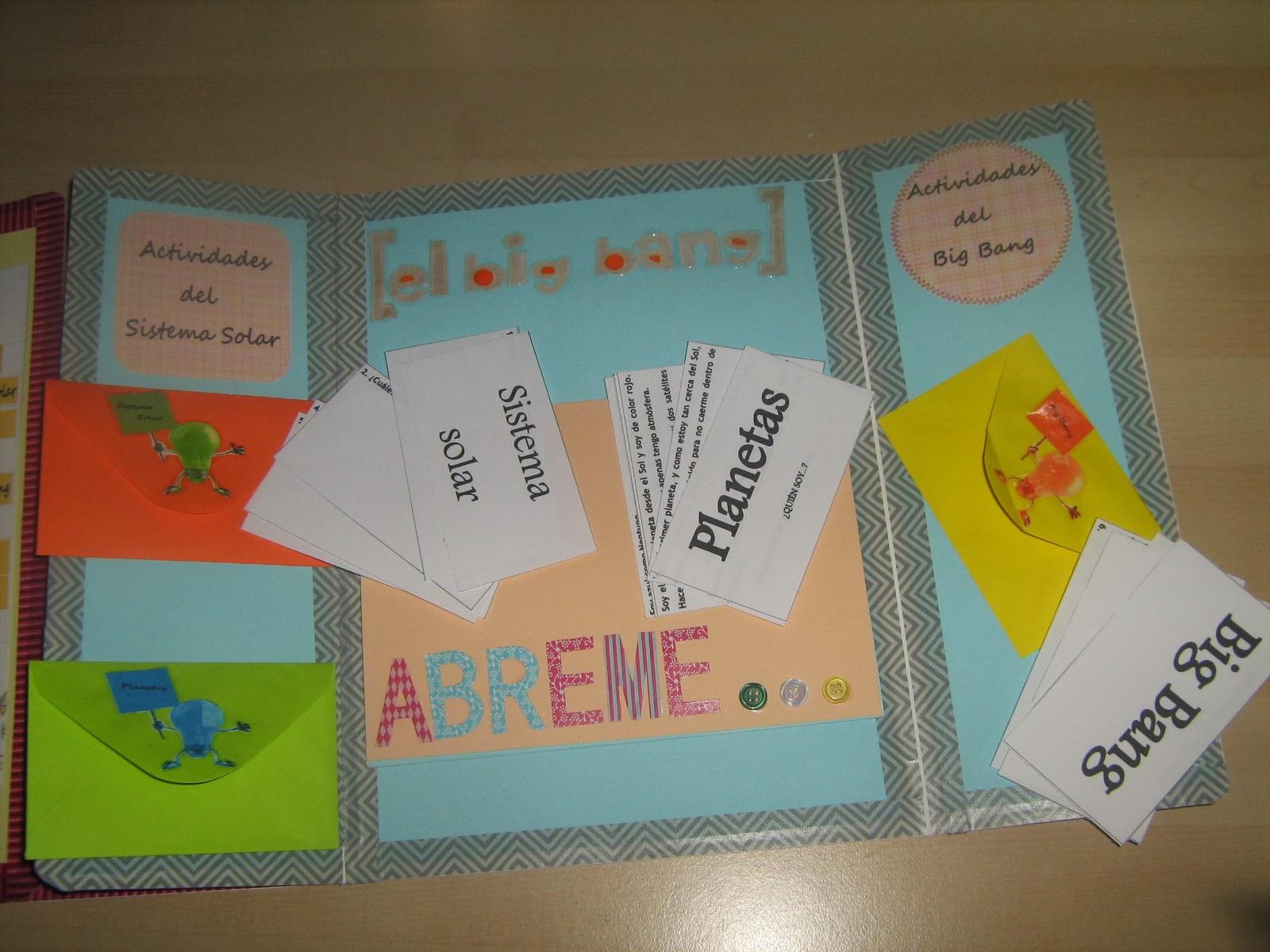 Maestra de primaria lapbook o libros desplegables con - Ideas fotos ninos ...