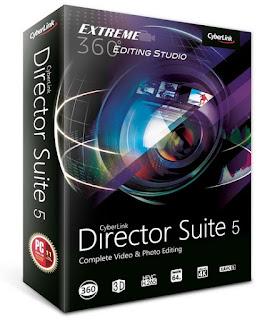 CyberLink Director Suite 5.0 Retail (Español-ML)(Suite Edición Vídeos y Fotos)