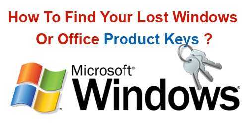 I Lost My Windows 7 Product Key, Now How To Find It ? | Find