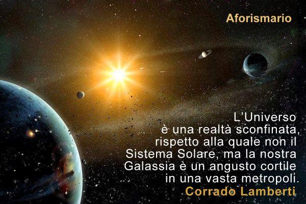 Aforismario Aforismi Frasi E Citazioni Sul Sistema Solare
