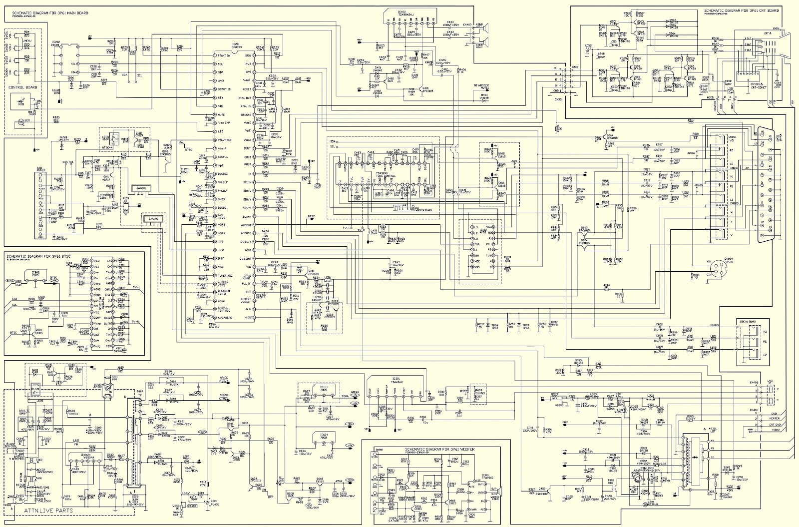 Fabulous Philips 21Pt9457 55 Flat Crt Tv Circuit Diagram And Adjustments Wiring Digital Resources Remcakbiperorg