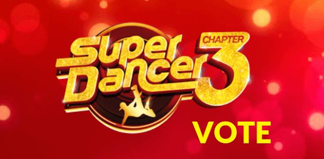 Super Dancer 3 VOTE [SonyLiv App] Online Voting 2019, Android, iOS