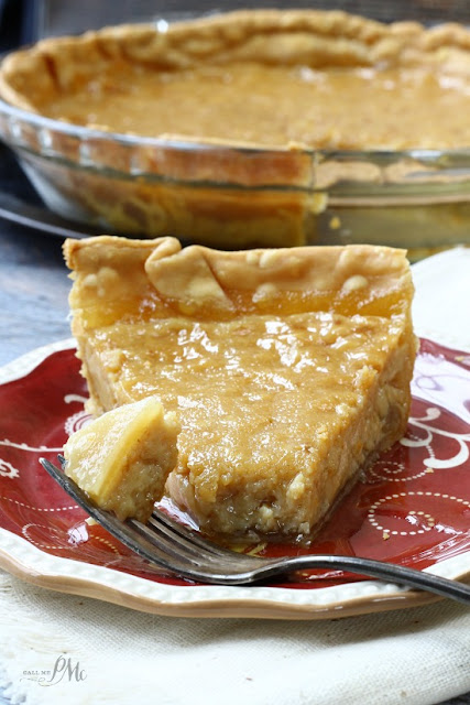 Old Fashioned Sugar Pie recipe from Call Me PMc