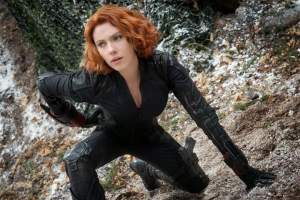 Scarlett Johansson as Black Widow | Photo by @screencrushnews - Twitter