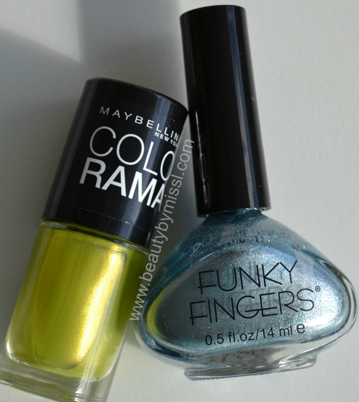 what i used for this manicure