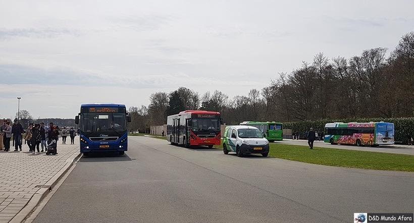 Ônibus para Keukenhof, Holanda