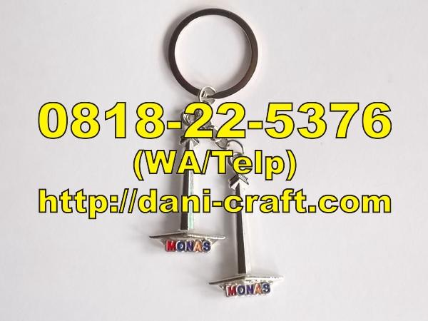 Jual Souvenir Gantungan Kunci Miniatur Monas