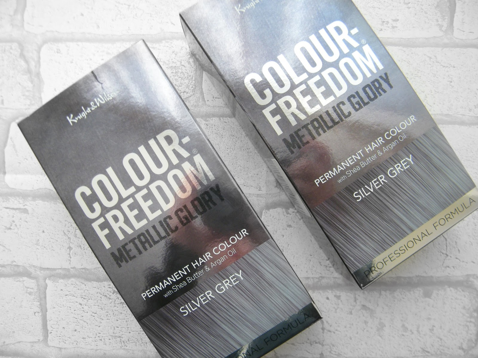 Colour Freedom Metallic Glory Silver Grey Review And