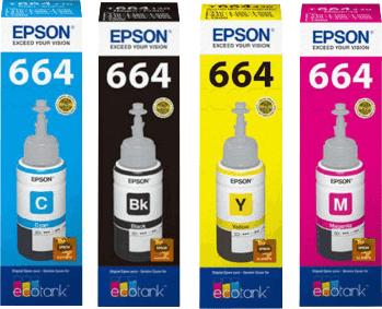 Tinta Original Epson L120 L365 L380 L395 L455