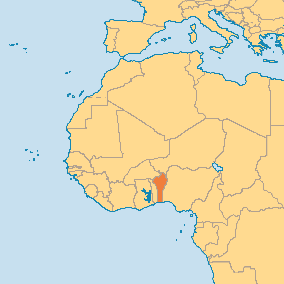 Where Is Benin On The World Map