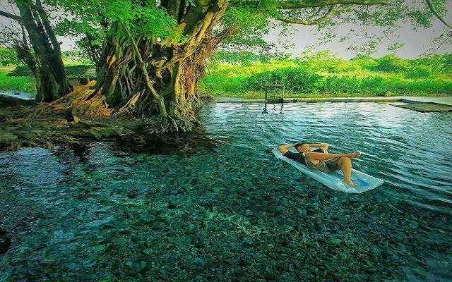 Spot Keren di Umbul Manten Klaten Cocok Bersantai sambil memandangi alam