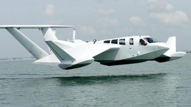Singapura Buat Kapal yang Bisa Terbang dengan nama The Air Fish 8