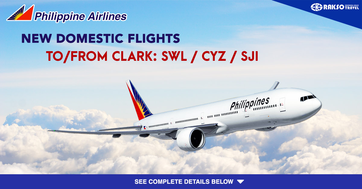 Philippine Airlines New Domestic Flights To From Clark San Vicente Palawan Swl Cauayan Isabela Cyz And San Jose Occidental Mindoro Sji Rakso Travel