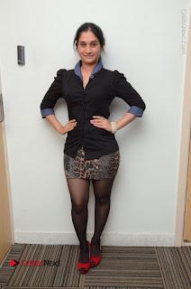 Telugu Actress Priyanka Pallavi Stills in Micro Mini Skirt at Nenosthaa Movie Song Launch at Radio City  0065.JPG