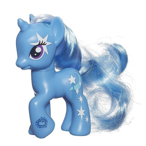 My Little Pony Friendship Flutters Trixie Lulamoon Brushable