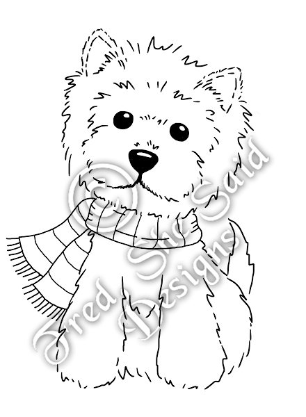 Fred, She Said Designs. The Store: Winter Westie