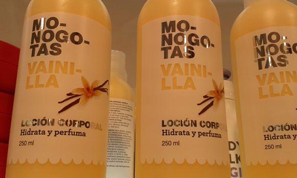 Locion Corporal Monogotas Vainilla Mercadona