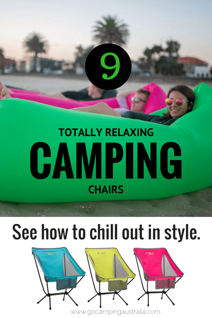 9 Camping Chairs that camper's butts will love