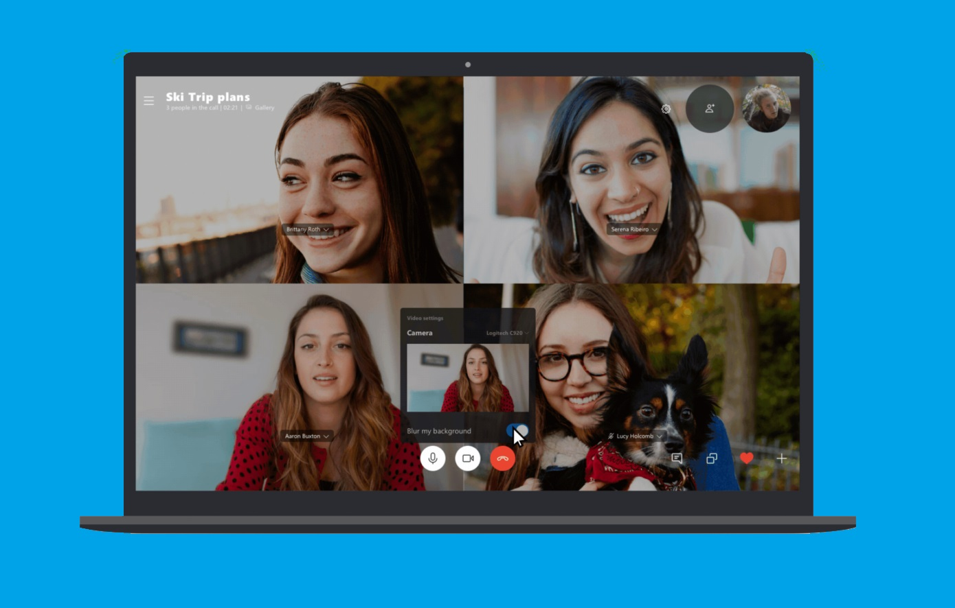 Skype introduces a new feature to eliminate background 'mess