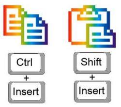 usare la destra per il copia e incolla