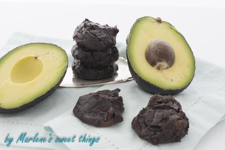 marlene 39 s sweet things schoko avocado cookies. Black Bedroom Furniture Sets. Home Design Ideas
