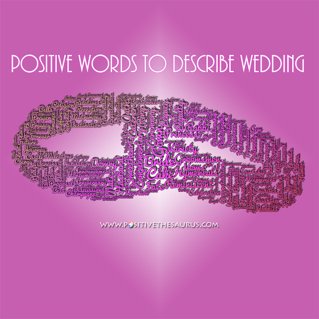 wedding words vocabulary rings word cloud