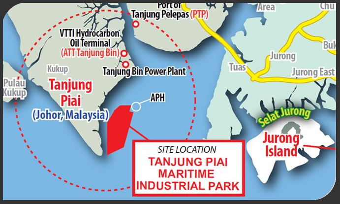 Image result for Tanjung Piai map images
