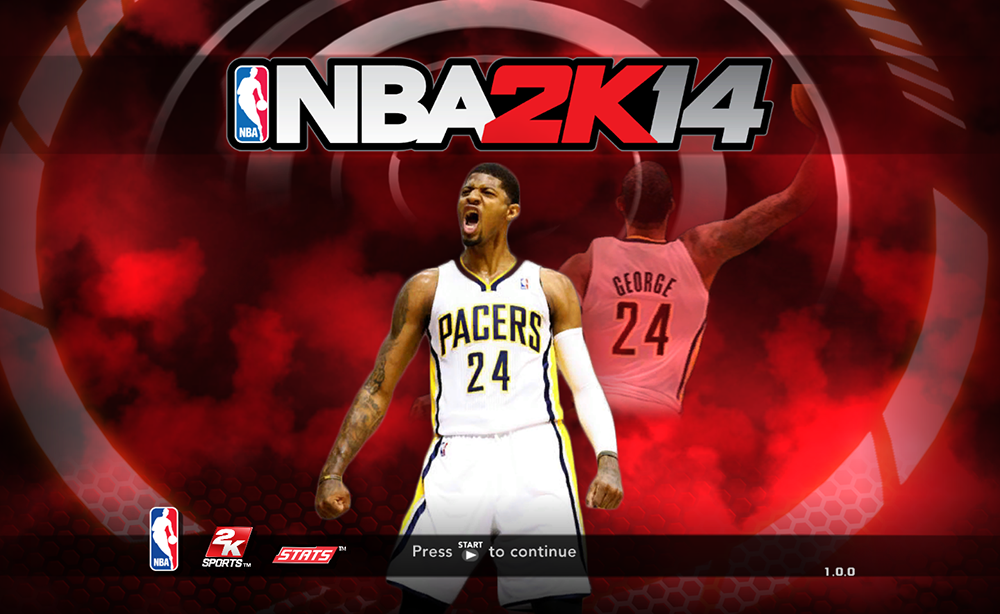 NBA 2K14 Paul George Game Screen Cover