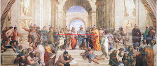 Vanishing Point - Horizon Line - The School of Athens by Raphael